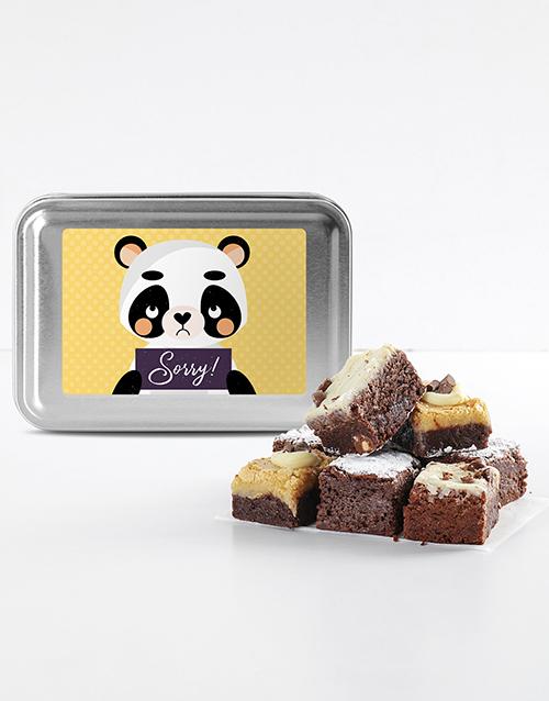 bakery: Sorry Brownie Tin!