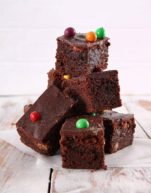easter: Astro Chocolate Brownies!