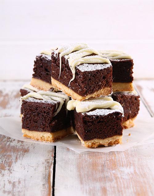 brownies: Shortbread Brownies!