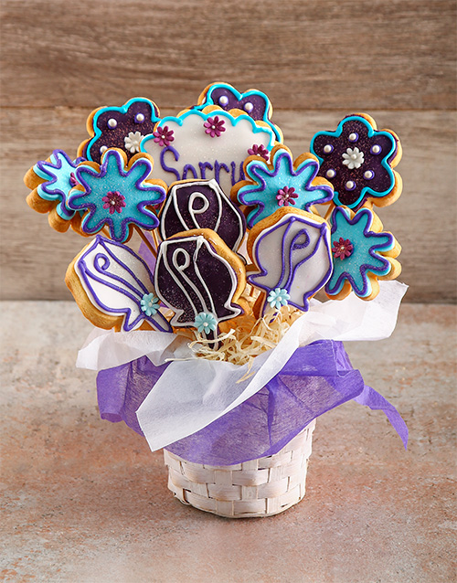 good-luck: I am Sorry Cookie Bouquet!