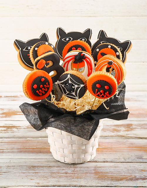 bakery: Spooky Cookie Bouquet!