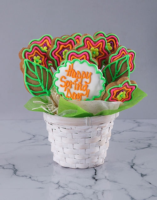 spring-day: Spring Time Cookie Bouquet!