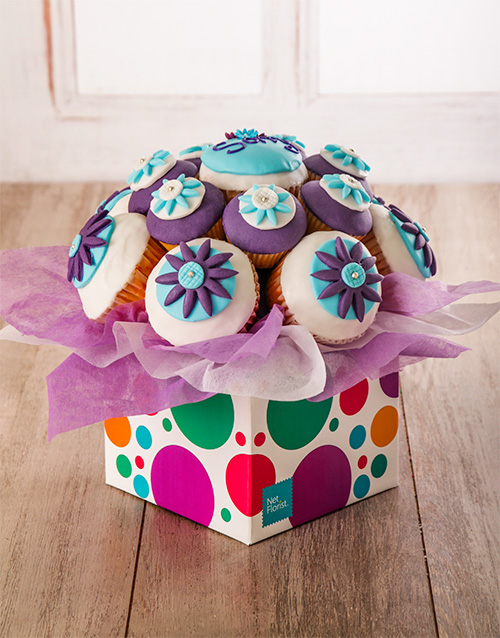 good-luck: Im Sorry Cupcake Bouquet!