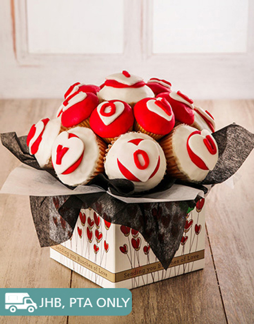 bakery: Delicious Romantic Cupcake Bouquet!