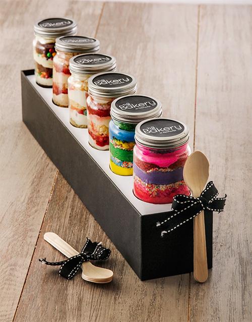 birthday: 6 Birthday Combo Cupcake Jars!