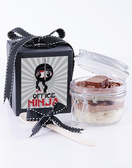bakery: Office Ninja Bar One Cupcake Jar!