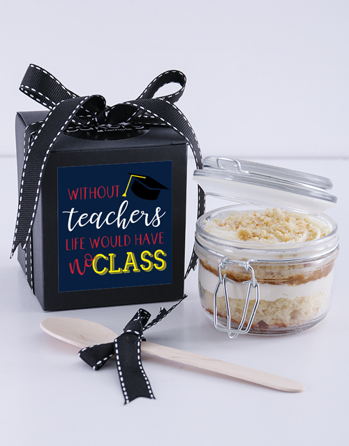 bakery: Teachers Day Apple Crumble Jar!