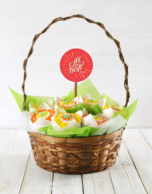cupcake-bouquets: Personalised All the Best Cupcake Bouquet!