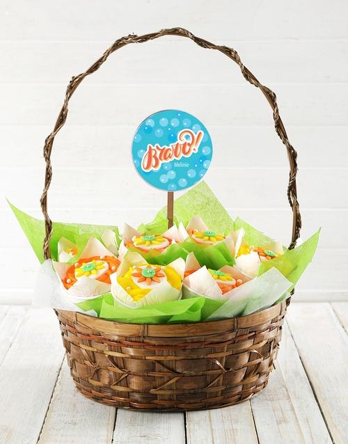 bakery: Personalised Bravo Cupcake Bouquet!