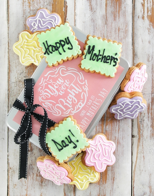 bakery: Mom Knows Best Cookie Tin!