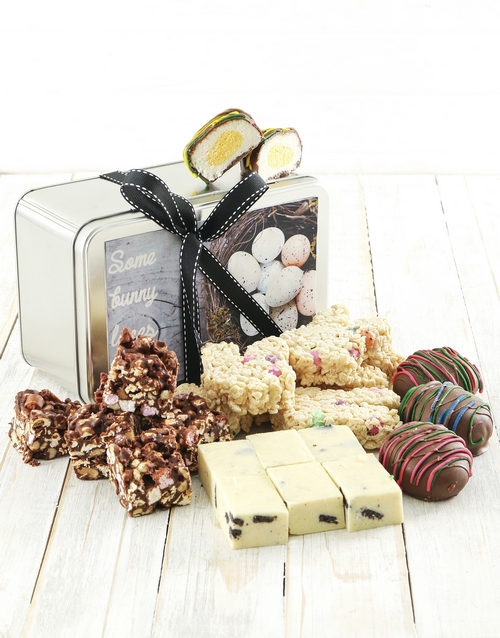 bakery: Easter Treats in a Tin!