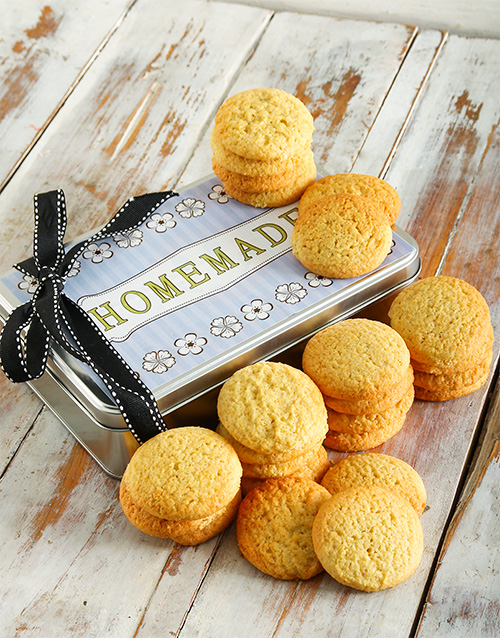 bakery: Homestyle Vanilla Cookies in a Tin!
