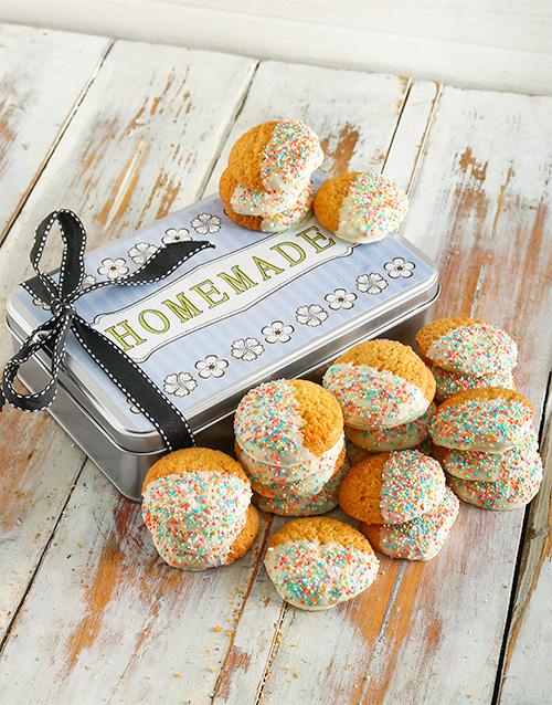 bakery: Vanilla Sprinkle Cookie Tin!