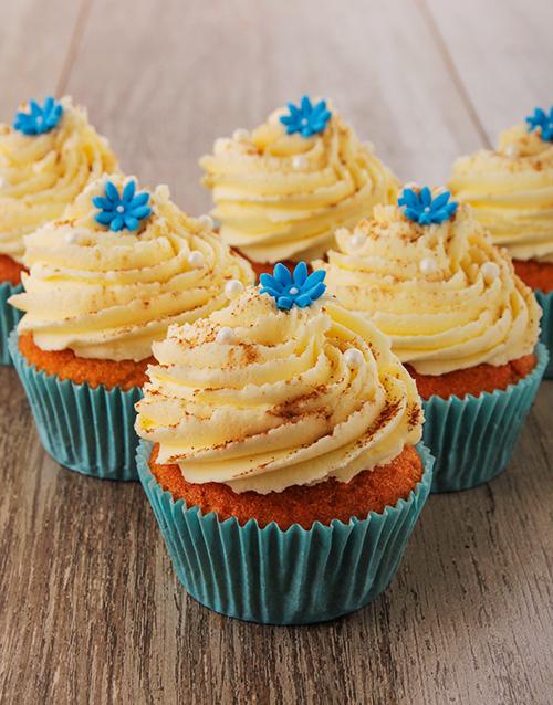 heritage-day: Milk Tart Cupcakes!