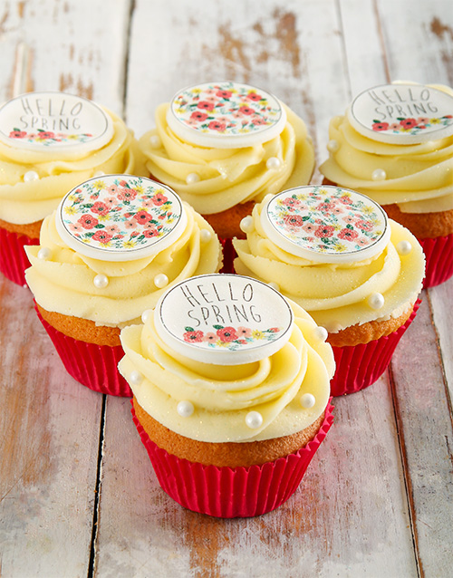 bakery: Spring Day Cupcakes!