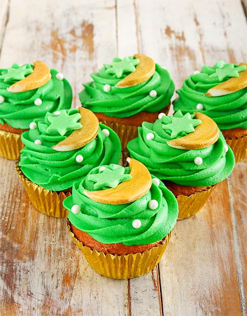 eid: Eid Vanilla Cupcakes!