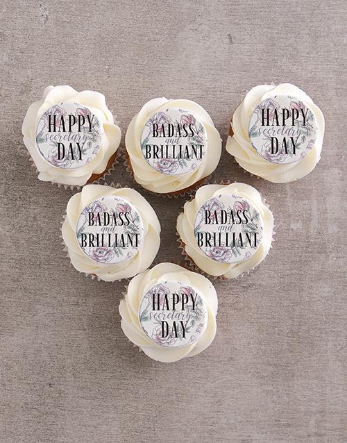 secretarys-day: Badass and Brilliant Vanilla Cupcakes!