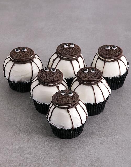 halloween: Chocolate Spider Cupcakes!