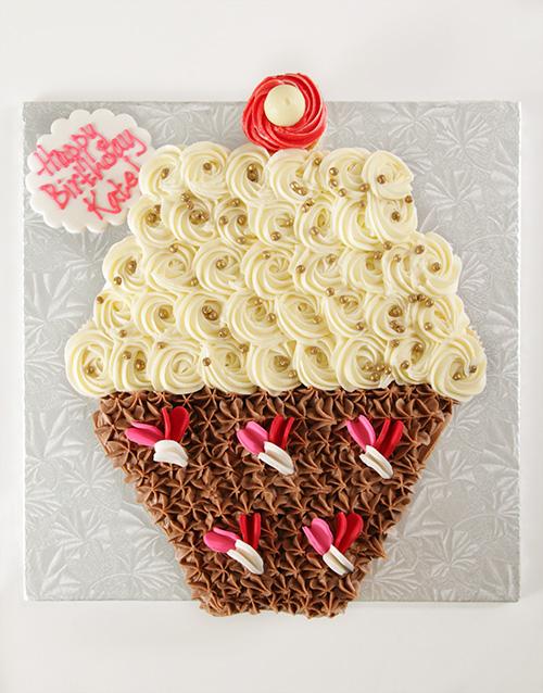 cupcakes: Cupcake Pull Apart Cake!