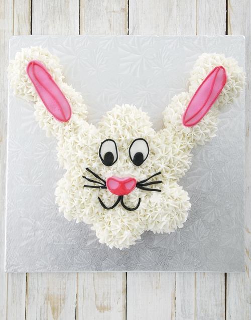 easter: Bunny Pull Away Cake!