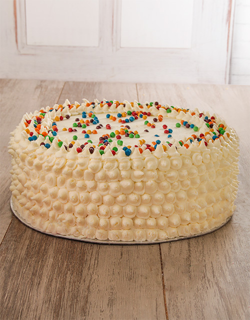bakery: Blue Rainbow Cake 30cm!