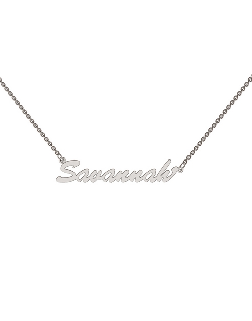 necklaces: Memi Personalised Single Name Necklace!
