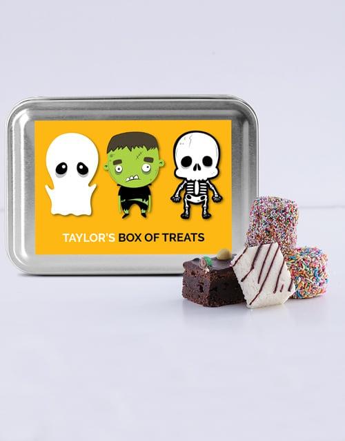bakery: Personalised Halloween Treat Tin!