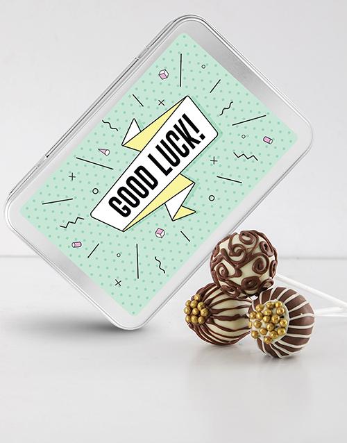 bakery: Good Luck Cake Pops!