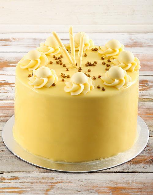 anniversary: White Chocolate Lindt Cake!