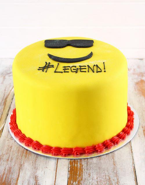 bosses-day: Legend Emoji Biscotti Cake!