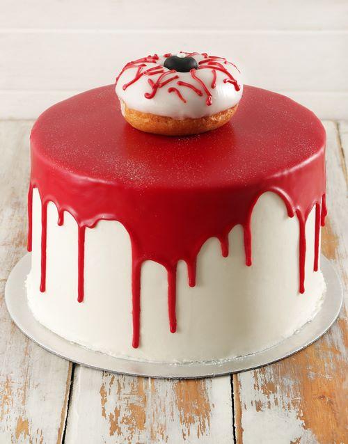 bakery: Eerie Eyeball Red Velvet Cake 20cm!