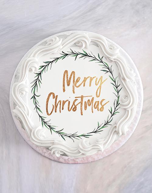 bakery: Vanilla Christmas Cake!