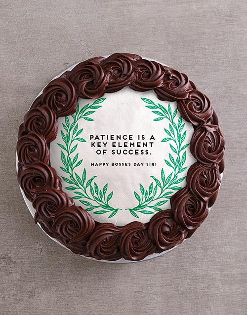 bosses-day: Boss Man Chocolate Cake!