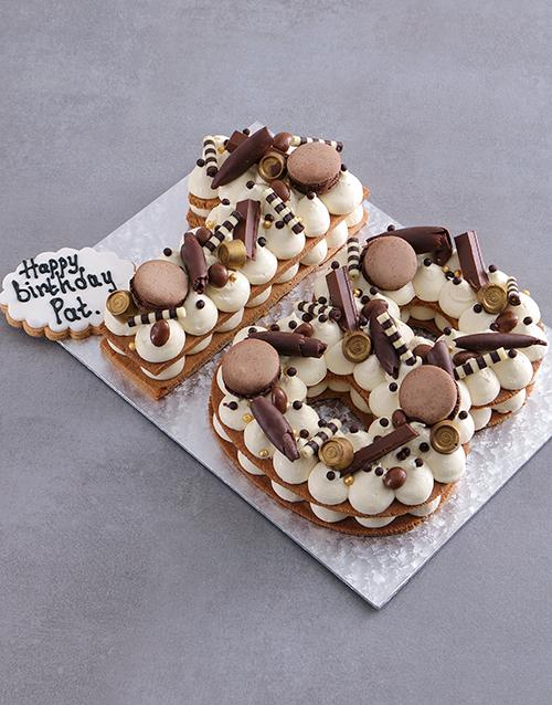birthday: Personalised Choco Cookie Cake!