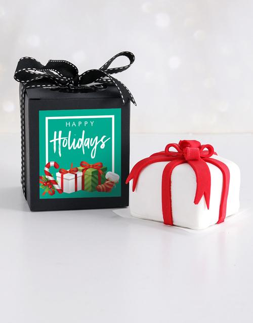 bakery: Mini Festive Gift Cake in a Box!