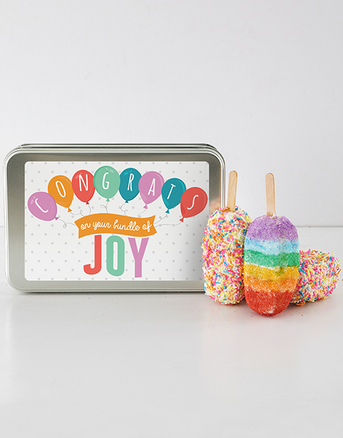 bakery: New Baby Cakes On A Stick!