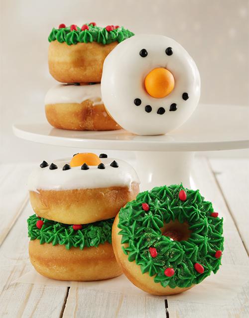 christmas: Christmas Ring Doughnuts!