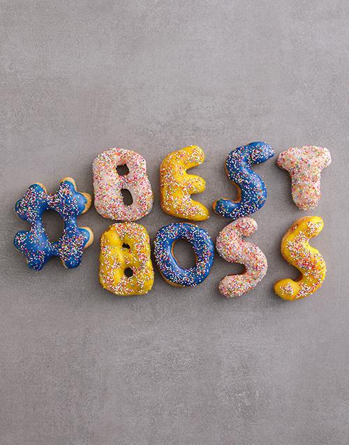bosses-day: Best Boss Mini Doughnuts Gift!