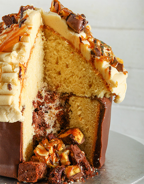 gifts: Peanut Butter Giant Pinata Cupcake!