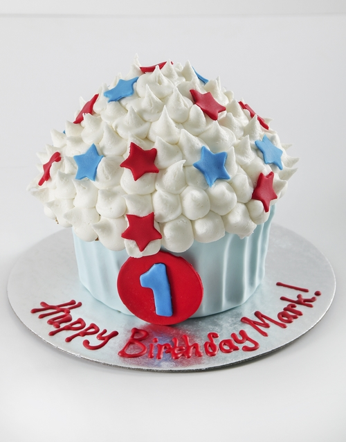 personalised: Personalised First Birthday Boy Smashcake!