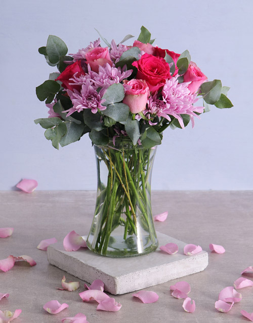 colour: A Ray Of Pink Sunshine In A Vase!