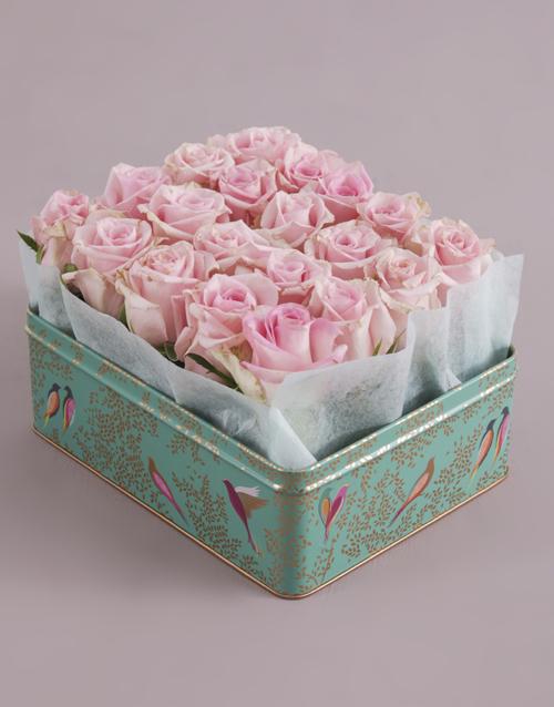 colour: Elegant Dusty Pink Rose Tin!