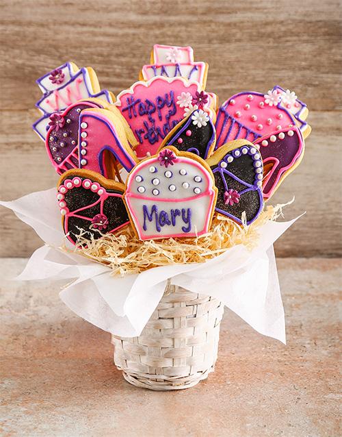 birthday: Hoity Toity Birthday Cookie Bouquet!