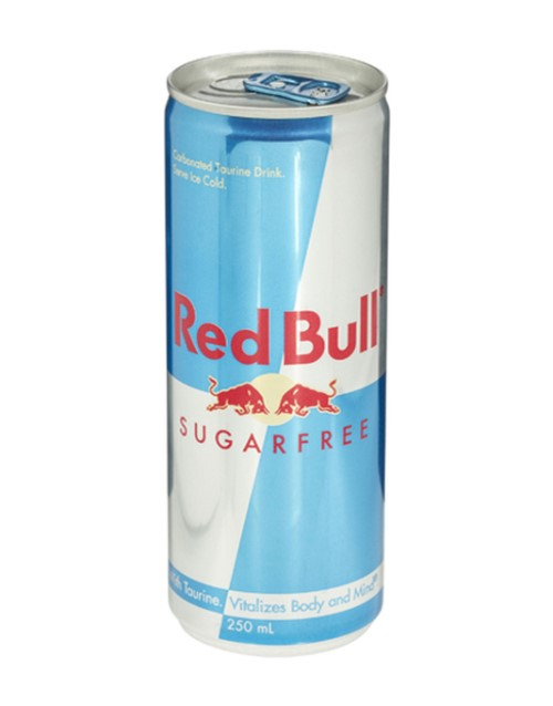 mixers: RED BULL SUGAR FREE 250ML !