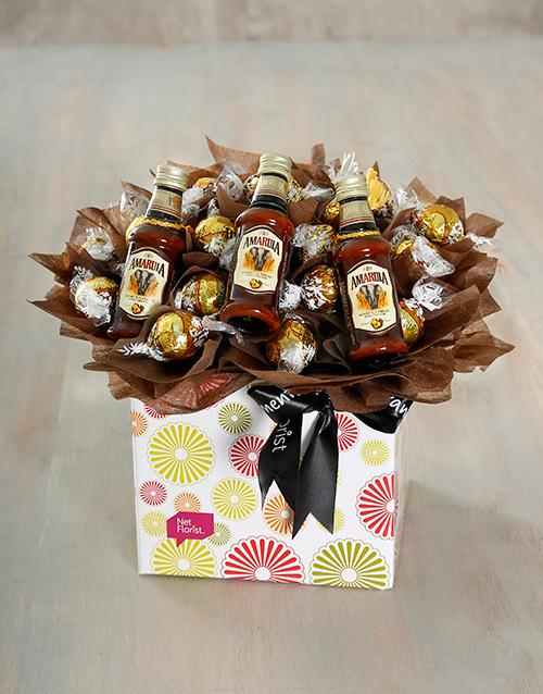 edible-arrangments: Amarula and Lindt Box!