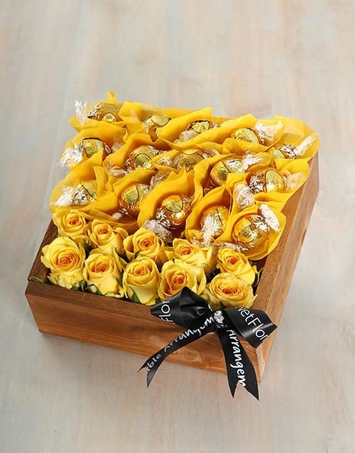 edible-chocolate-arrangements: Sunny Summer Crate!