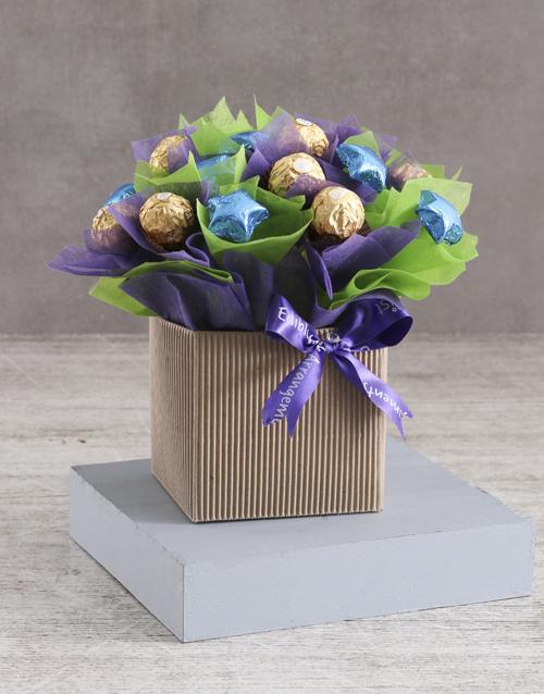 edible-chocolate-arrangements: Colour The Palette Arrangement!