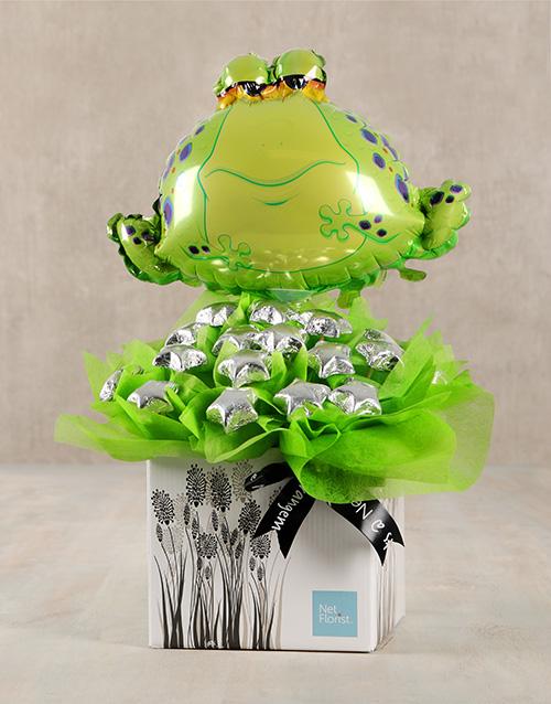 edible-chocolate-arrangements: Frogarific Chocolate Star Box!