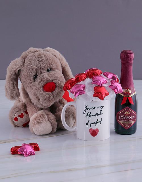 edible-arrangments: Delightful Bubbly and Teddy Bear Arrangement!
