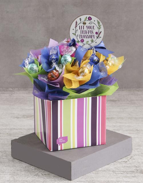 flowers: Blossoming Dreams Edible Arrangement!